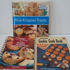 Vintage x1 and 2 Cookbooks